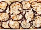 Рецепта Патладжани на фурна с яйца и сирене